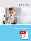 Tech-To-U Whitepaper IT Support Best Practices PDF Download